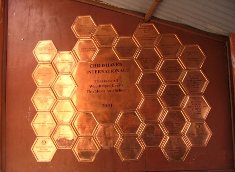 Wall of Honour plaques