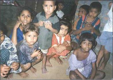 Learning to read will be a longterm benefit for these children in Ghaziabad